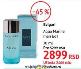 1a3c473f0f Bvlgari Aqua Marine man muški parfem cena na akciji DM market s81514