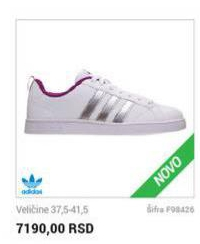 Adidas ženske Patike Cena Na Akciji Planeta Sport S85484