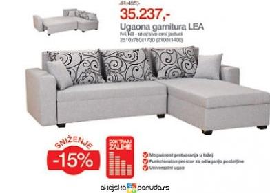 Nameštaj > Nameštaj za kuću > Forma Ideale - Ugaona garnitura - Lea