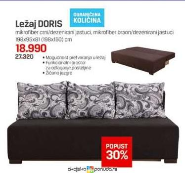 Ležaj Doris Cena Na Akciji Forma Ideale S107261