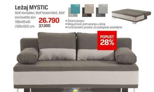 Ležaj Mystic Cena Na Akciji Forma Ideale S107277