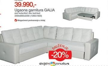 Ugaone Garniture Forma Ideale http://www.akcijskaponuda.rs/katalog