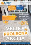 Katalog Galerija podova prolecna akcija, 12. april do 14. maj 2018