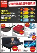 Katalog Home Plus zimska rasprodaja, 18. januar do 28. februar 2019